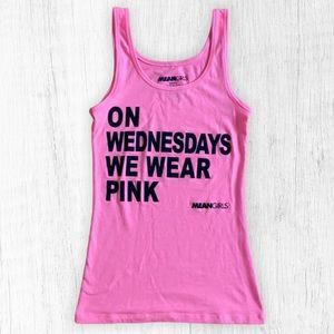 Mean Girls Pink Tank Top